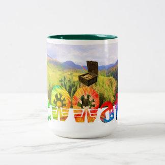 Fennaticの虹のハンター ツートーンマグカップ