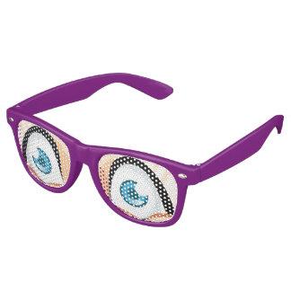 Fennec賞のキツネの目 レトロサングラス
