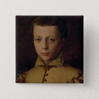 Ferdinandoのde Mediciのポートレート 5.1cm 正方形バッジ