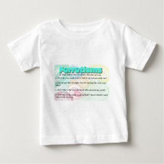 Ferretismかフェレットの引用文 ベビーTシャツ