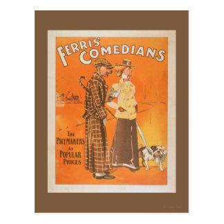 """Ferrisのコメディアン""""大衆価格のペースメーカー"""" ポストカード"""