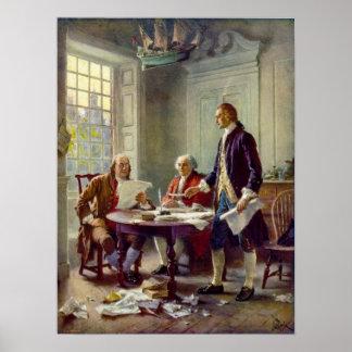 Ferris独立宣言を書くこと ポスター