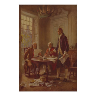 Ferris著独立宣言を書くこと ポスター