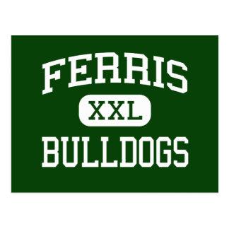 Ferris -ブルドッグ-高ジャージーシティーニュージャージー ポストカード