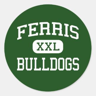 Ferris -ブルドッグ-高ジャージーシティーニュージャージー ラウンドシール