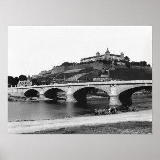 Festung Marienbergの要塞 ポスター