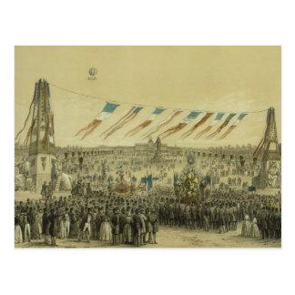 Fetee de laコンコルド- 1848年 ポストカード