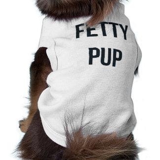 """""""Fetty子犬""""犬のワイシャツ ペット服"""
