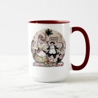 Fezziwig-Dickensおよびクリスマスのマグ マグカップ