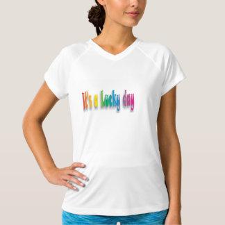 ff幸運な日 tシャツ