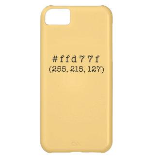 #ffd77fのiPhone 5c、やっとそこに iPhone 5C ケース