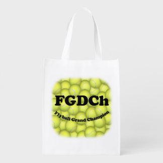 FGDChのFlyballの壮大なチャンピオン、30,000ポイント エコバッグ