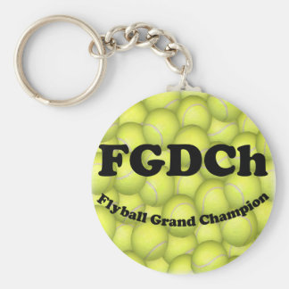 FGDChのFlyballの壮大なチャンピオン、30,000ポイント キーホルダー