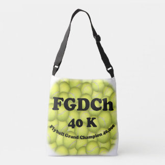 FGDChのFlyballの壮大なチャンピオン、30,000ポイント クロスボディバッグ