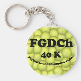 FGDChのFlyballの壮大なチャンピオン、40,000ポイント キーホルダー