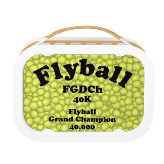 FGDChのFlyballの壮大なチャンピオン、40,000ポイント ランチボックス