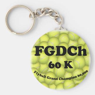 FGDCh 60 KのFlyballの壮大なチャンピオン、60,000ポイント キーホルダー