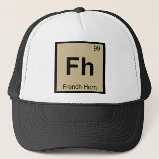 Fh -フレンチ・ホルン音楽化学周期表 キャップ