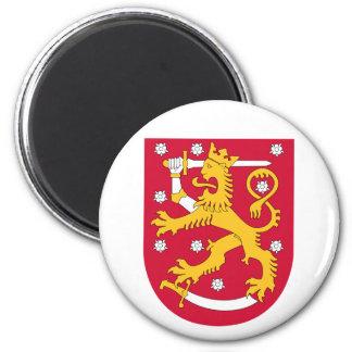 FIフィンランドの紋章付き外衣 マグネット