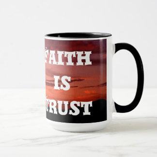 Fiathは信頼です マグカップ