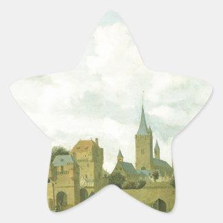 fictiveのケルンのSt. Severinの教会 星シール