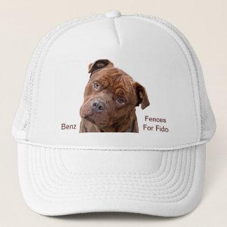 """Fidoの帽子のための塀のピットブル""""ベンツ"""" キャップ"""