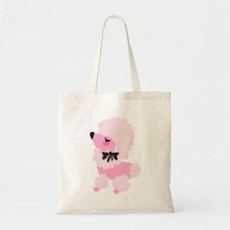 Fifiのピンクのプードルのかわいいバッグ トートバッグ