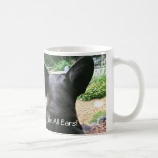 FiFi女王すべての耳のコーヒー・マグ コーヒーマグカップ