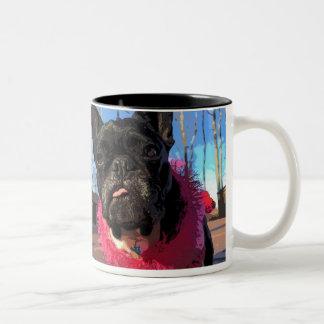 FiFi女王のコーヒー警報コップ ツートーンマグカップ