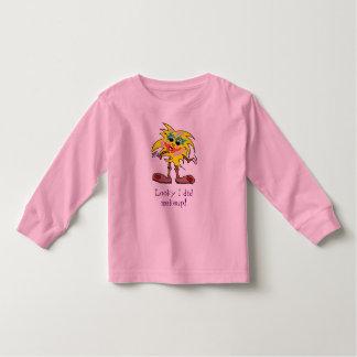 FiGiTsの化粧のTシャツ トドラーTシャツ