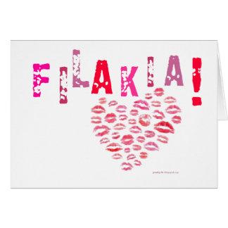 Filakia! (キス)ギリシャカード カード