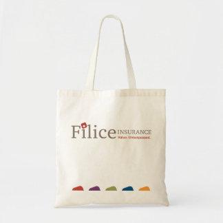 Filiceの食料雑貨のトートバック トートバッグ