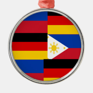 FILIPINO-GERMAN メタルオーナメント