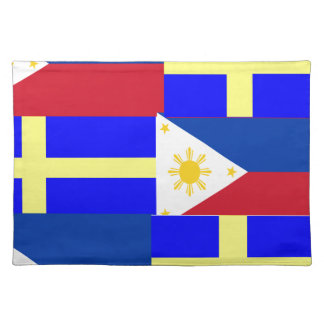 FILIPINO-SWEDISH ランチョンマット