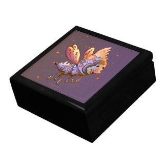 FILOUPPINの大きい正方形のタイルのギフト用の箱の金ゴールドモンスター ギフトボックス