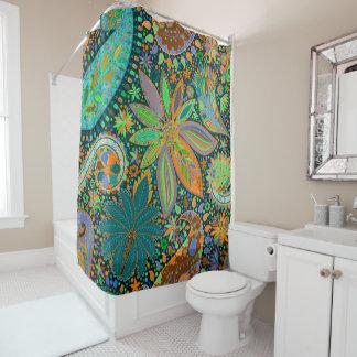 Filscorpのインディアンパターン シャワーカーテン