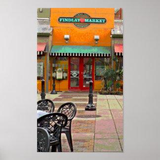 Findlayの市場ポスター ポスター