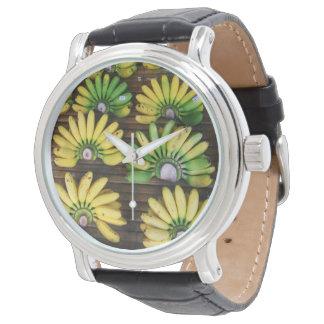 Finger Bananas女性~の卵のバナナ(กล้วยไข่) 腕時計