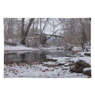 Finleyの雪 ランチョンマット