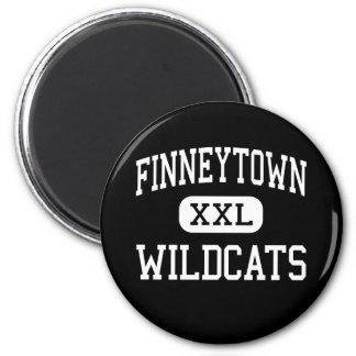 Finneytown -山猫-高シンシナチオハイオ州 マグネット