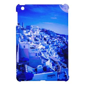 Fira Santorini上のブルームーン iPad Mini Case