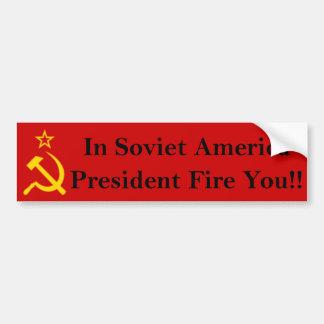 Fire大統領!! バンパーステッカー