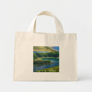 fire湖、アゾレス ミニトートバッグ