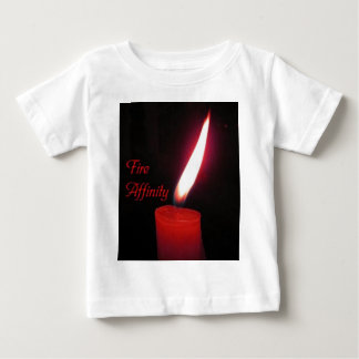 Fire_Affinity ベビーTシャツ