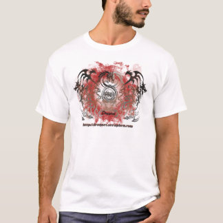 fire-circle-dragnet tシャツ