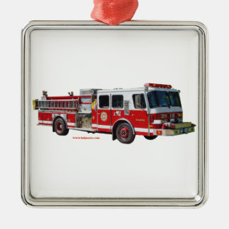 Fire_Truck_texturizer メタルオーナメント