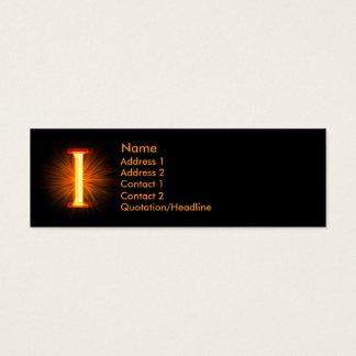 Fireblockのモノグラム- I スキニー名刺