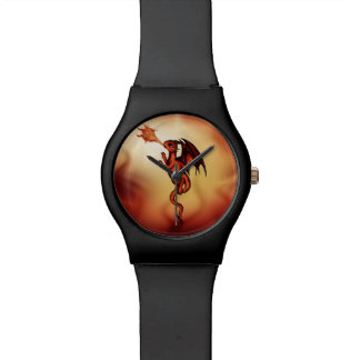 firebreathingドラゴン 腕時計