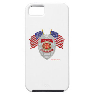 FireFighter_Badge_Captain iPhone SE/5/5s ケース