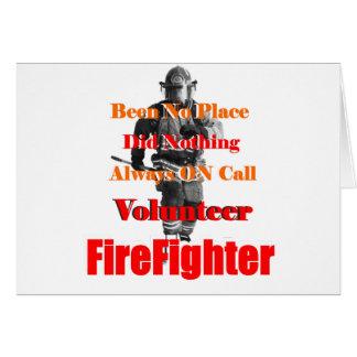 Firefightrt_Volunteer_On_Duty カード